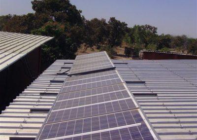 Les  plaques solaires